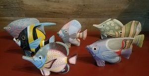 Other - Wooden Painted fish